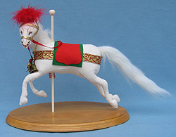 "Annalee 12"" Noel the Carousel Horse - Mint - 284196"
