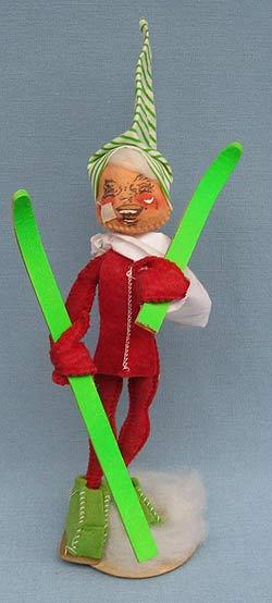 "Annalee 10"" Casualty Ski Elf with Arm in Sling - Near Mint - Z245-70xo"
