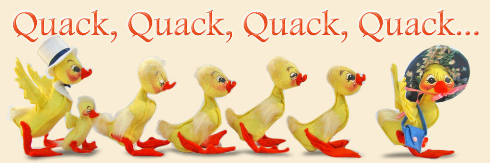 Annalee Spring & Easter Ducks