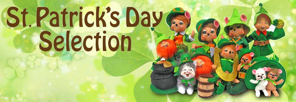 Annalee St. Patricks's Day Dolls