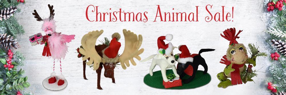 Annalee ChristmasAnimal Sale