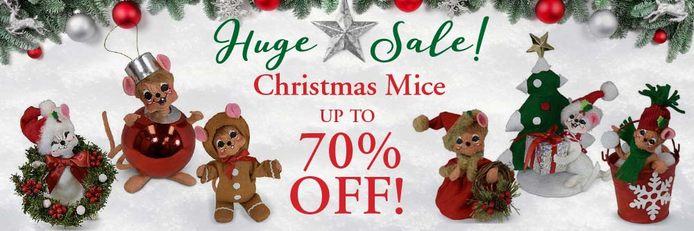 Huge Christmas Mice Sale - Up to 70% off