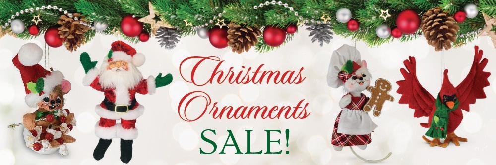 Annalee Christmas Ornament Sale