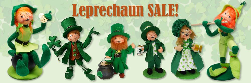 Annalee Leprechaun & Elf Sale