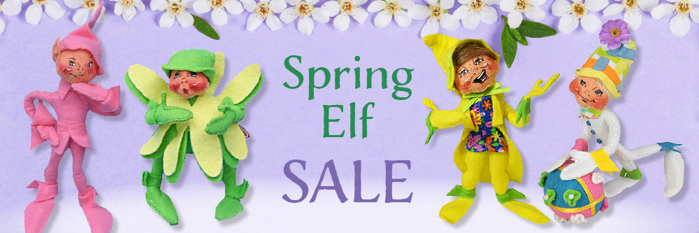 Annalee Spring and Easter Elves