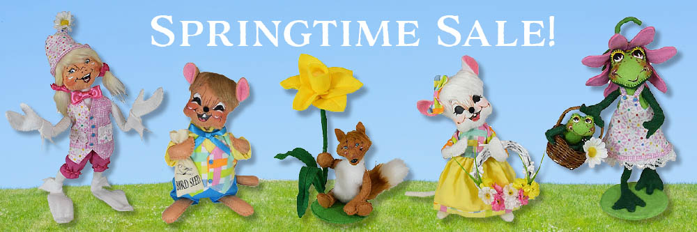 Annalee Easter - Spring Annalee Sale