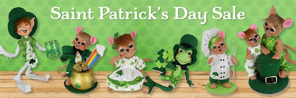 Annalee St. Patrick\'s Day Sale