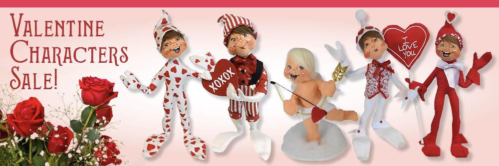 Annalee Elves, Cupids, Snowmen and Angels