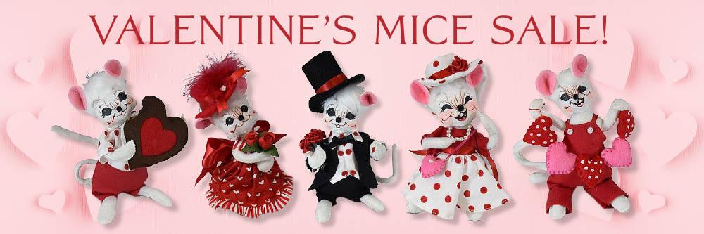 Valentine Mice Sale