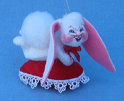 "Annalee 3"" Love Bunny Ornament - Mint - 030802"