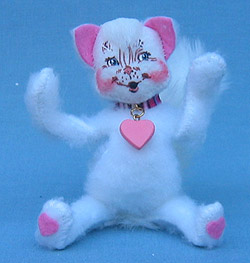 "Annalee 4"" All My Hearts Kitty Cat - Mint - 033407"