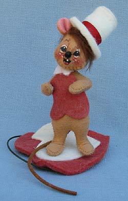 """Annalee 3"""" Hershey Boy Mouse - Very Good - 033497a"""