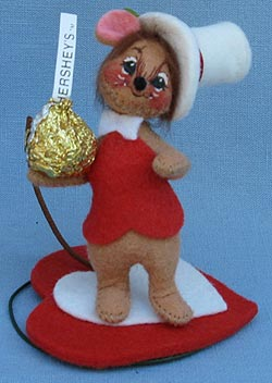 """Annalee 3"""" Hershey Boy Mouse - Mint - 033497ox"""