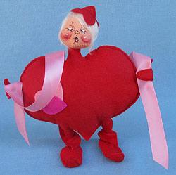 "Annalee 8"" I'm All Heart Kid - Kissing - Mint - 037098xooh"