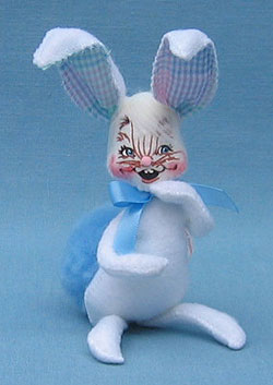 "Annalee 5"" Blue Spring Bunny - Mint - 053303"