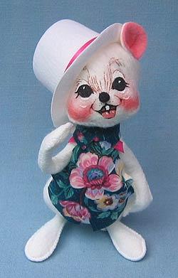 "Annalee 7"" Sunday Best Boy Mouse - Mint - 055100"