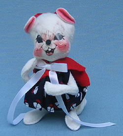 """Annalee 7"""" Sailor Girl Mouse - Mint - 056000"""