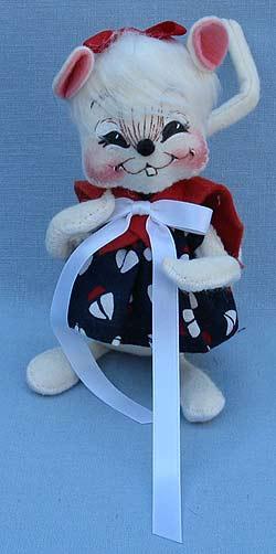 "Annalee 7"" Sailor Girl Mouse - Near Mint - 056000sqxt"