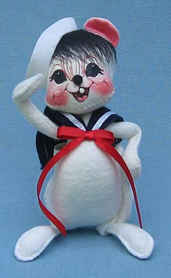 """Annalee 7"""" Sailor Boy Mouse - Mint - 056100"""
