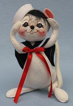 """Annalee 7"""" Sailor Boy Mouse - Mint - 056101oxt"""