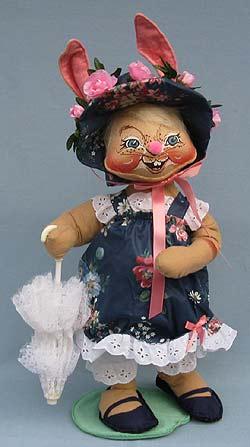 "Annalee 18"" E.P. Girl Bunny - Mint - 071092"