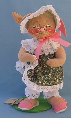 """Annalee 18"""" E.P. Girl Bunny - Mint - Signed - 071098s"""