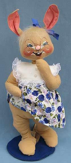 "Annalee 18"" E.P. Girl Bunny - Mint - 071099"
