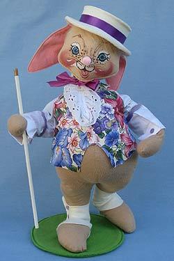 """Annalee 18"""" E.P. Boy Bunny - Good -071595a"""