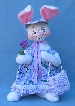 "Annalee 18"" Spring Girl Bunny - Mint - 071705"