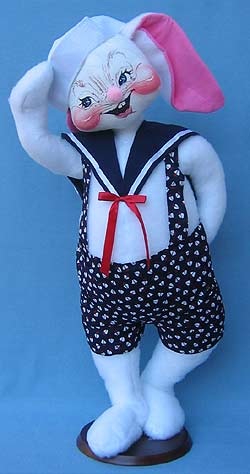 """Annalee 30"""" Sailor Bunny - Mint - 082300"""
