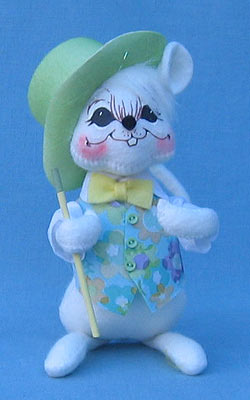 "Annalee 6"" Spring Boy Mouse - Mint - 085006oxt"