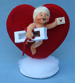 """Annalee 5"""" Special Delivery Cupid - Mint - 100311"""