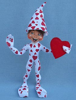 "Annalee 10"" Heartfelt Elf 2016 - Mint - 100516"