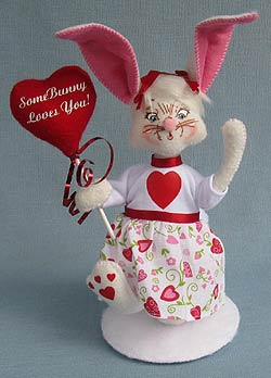 "Annalee 8"" Some Bunny Loves You 2013 - Mint - 101113"