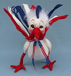 "Annalee 9"" Patriotic Rooster - Mint - Prototype - 102003"
