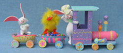 """Annalee 18"""" Easter Train with Duck and Bunnies - Mint - 148406"""