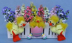 """Annalee 11"""" x 15"""" Ducks Cottage Garden - Mint - 150205"""