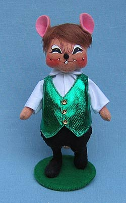 "Annalee 6"" Riverdance Boy Mouse - Mint - 151809"