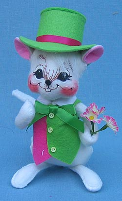 "Annalee 6"" Spring Boy Mouse - Mint - 152707"