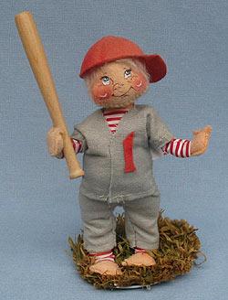 "Annalee 7"" Baseball Player - Good - 164084oxa"