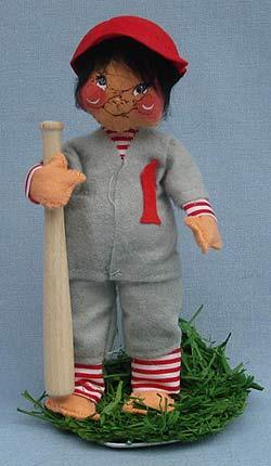 "Annalee 7"" Baseball Player - Mint - 164085ox"