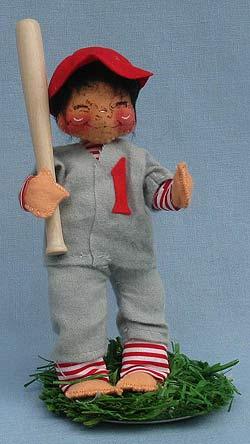 """Annalee 7"""" Baseball Player - Mint - 164085xx"""