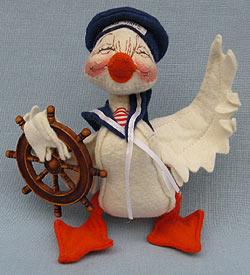 "Annalee 5"" Tall Ship Sailor Duck - Very Good - 172495xa"