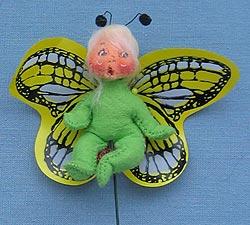 "Annalee 3"" Butterfly Pick - Mint - 181796ooh"