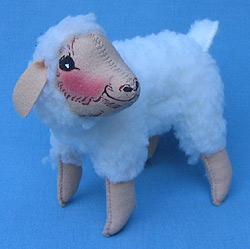 "Annalee 10"" Ewenice the Lamb / Sheep - Mint - 185198"