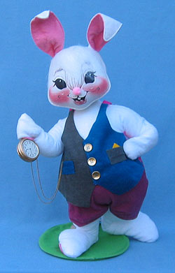 """Annalee 18"""" Just in Time Bunny - Mint - 186098"""