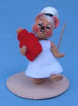 """Annalee 3"""" Nurse Mouse - Mint - 199596"""