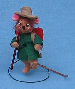 """Annalee 3"""" Hiker Mouse - Mint - 199696ox"""