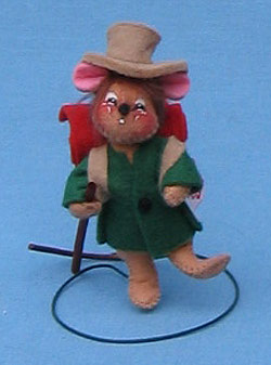 """Annalee 3"""" Hiker Mouse - Mint - 199696sq"""