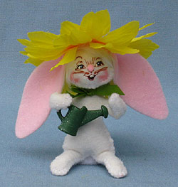 "Annalee 3"" Spring Planting Bunny - Mint - 200110"